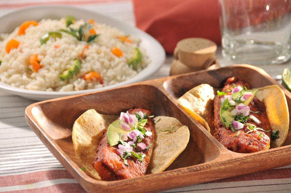 Fish tacos talla style