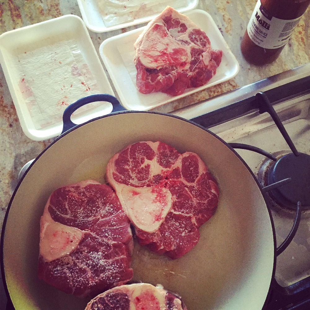 Osso buco Mexican style