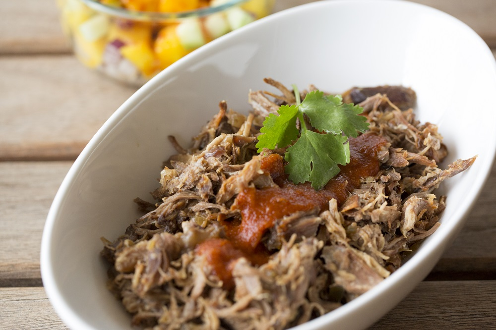 pulled pork chamoyado