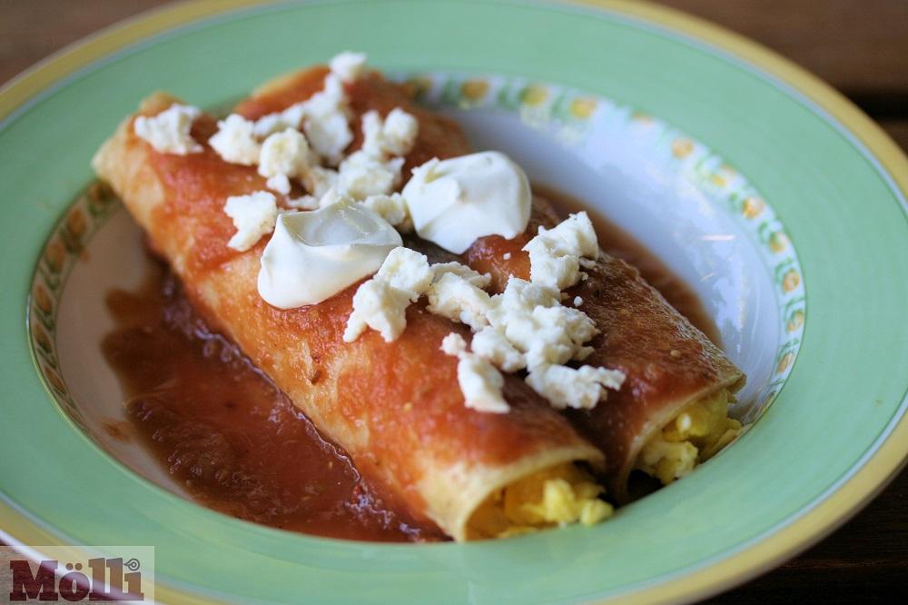 Breakfast Entomatadas