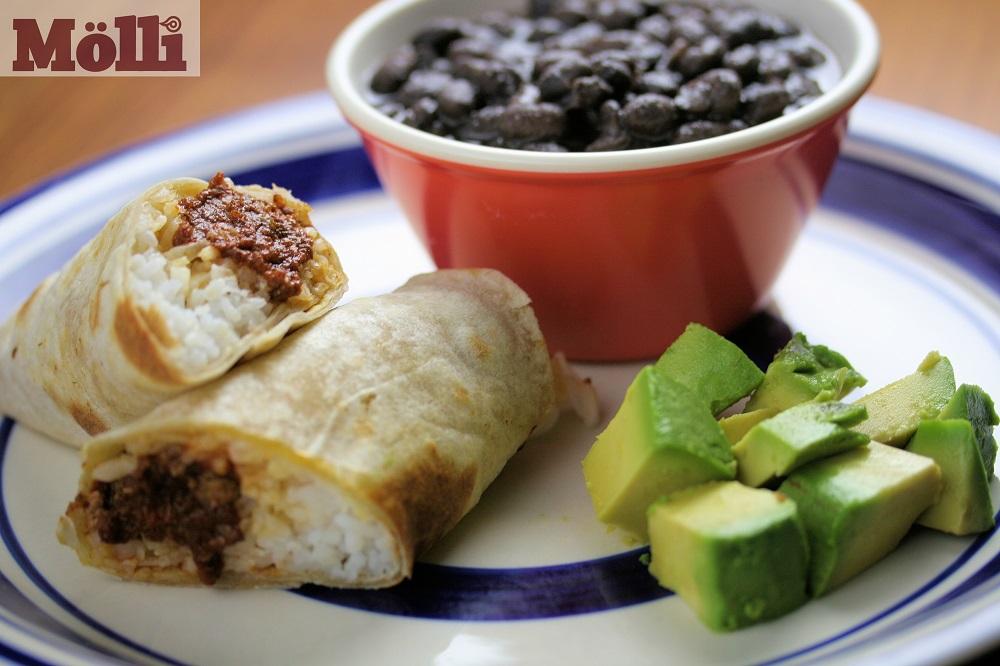 Meatball Burrito (Oaxaca)