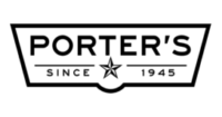 Buy at select Porter's stores