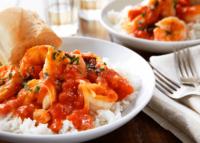 Shrimp Veracruz style tomatoe