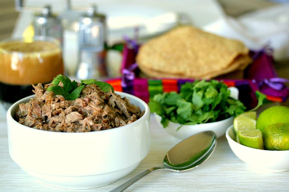 Slow Cooker Carnitas Yucatan Style