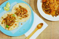 Chicken with Nopales tacos 2