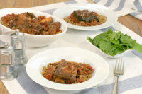 Slow cooker beef short ribs with lentils 2
